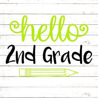 Hello Second Grade