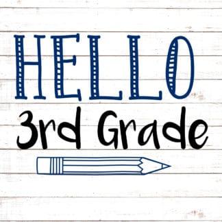 Hello Third Grade