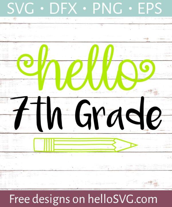 Hello Seventh Grade